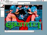 Gauntlet Macintosh Title screen (colour)