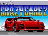 F40 Pursuit Simulator Macintosh Title screen