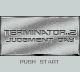 T2: Terminator 2 - Judgment Day Game Boy Title Screen