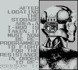 T2: Terminator 2 - Judgment Day Game Boy Now to reprogram a Terminator