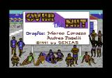 Over the Net! Commodore 64 Title screen