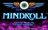 Mind-Roll DOS title screen - EGA