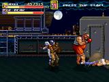 Streets of Rage Remake Windows R. Bear punches Axel to the ground (2006 version).