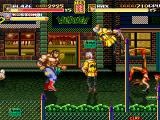 Streets of Rage Remake Windows Two-player mode: Max and Blaze (2006 version)