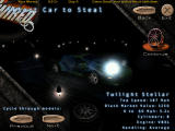 Hot Wired Windows Car selection - this is one of the cars you can heist from the beginning.