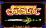 Conquests of Camelot: The Search for the Grail Atari ST Title Screen