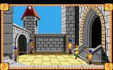 Conquests of Camelot: The Search for the Grail Atari ST We move out of the building (click & Point)