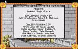 Conquests of Camelot: The Search for the Grail Atari ST Credits