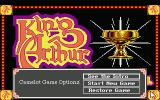 Conquests of Camelot: The Search for the Grail Atari ST The Main menu