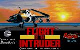 Flight of the Intruder Amiga Title screen