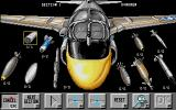 Flight of the Intruder Amiga Select the weapons for your A-6 Intruder.