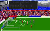Football Manager Atari ST That shot's missed