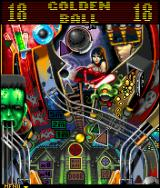 Mystery Mansion Pinball J2ME Golden ball activated.