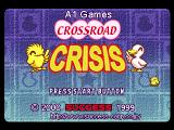 Crossroad Crisis PlayStation Title screen