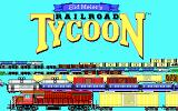 Sid Meier's Railroad Tycoon DOS Opening title