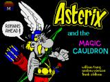 Asterix and the Magic Cauldron ZX Spectrum Loading screen