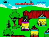 Asterix and the Magic Cauldron ZX Spectrum A Roman camp