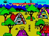 Asterix and the Magic Cauldron ZX Spectrum Game start