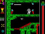 Vampire's Empire ZX Spectrum Game start