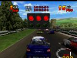 TOCA 2: Touring Car Challenge PlayStation Race grid
