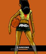 AND 1 Streetball J2ME Loading screen