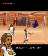 AND 1 Streetball J2ME A dunk in the replay mode
