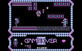Game Over II PC Booter Since the action screen is so small and the sprites are so large, it is often impossible to avoid getting hit.