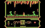 Game Over II PC Booter At least the CGA alternative palette is put to some use.