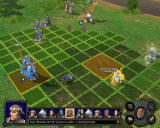 Heroes of Might and Magic V: Hammers of Fate Windows The cavalry is ready to attack the footman.