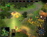 Heroes of Might and Magic V: Hammers of Fate Windows Exploring the area.