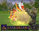 Heroes of Might and Magic V: Hammers of Fate Windows The Champions are large and heavily armored units.