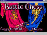 Battle Chess Windows 3.x Title screen.