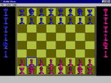 Battle Chess Windows 3.x 2D Board.