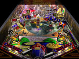Judge Dredd Pinball DOS Main pinball table