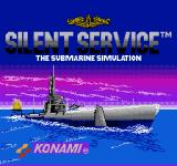 Silent Service NES Title screen (European version)