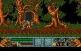Barbarian II Atari ST Sword attacks can decapitate certain enemies with a nice splash of gore.