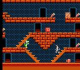 The Bugs Bunny Crazy Castle NES The first level of the Crazy Castle. There are 80 (yes, eighty!) levels in all.