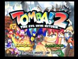 Tomba! 2: The Evil Swine Return PlayStation Main menu