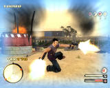 "Total Overdose: A Gunslinger's Tale in Mexico Windows The ""Tornado"" move transforms you into a spinning gun turret."