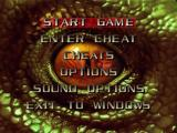 Turok 2: Seeds of Evil Windows Main menu