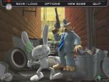 Sam & Max Episode 2: Situation: Comedy Windows Main game screen