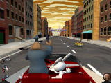 Sam & Max: Episode 2 - Situation: Comedy Windows Chasing rats in an interactive driving sequence.