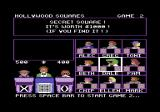 Hollywood Squares Commodore 64 A bit of extra spice for round 2