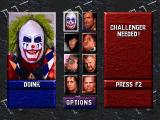 WWF WrestleMania DOS Pick your muscles!