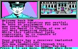 L.A. Crackdown DOS beginning a new game - CGA
