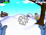 Snow Day: The GapKids Quest Windows Parry a snowball with another snowball