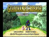 Guardian's Crusade PlayStation Main menu