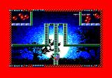 Zap't'Balls Amstrad CPC Level 4 adds ladders and destructible blocks