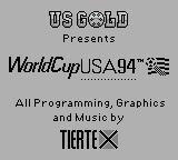 World Cup USA 94 Game Boy Title screen