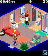Miami Nights: Singles in the City J2ME Starting the game inside your apartment.